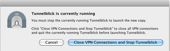OpenVPN connection on Mac - Step 5