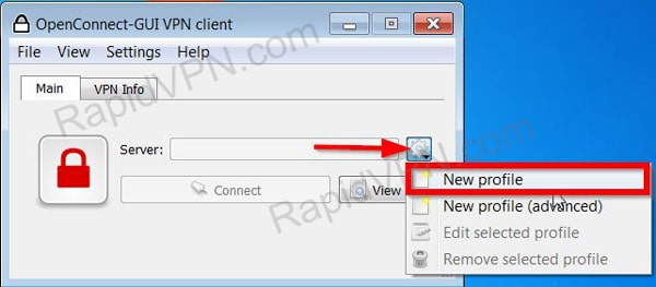 How to install OpenConnect in Windows 7 - Step 2