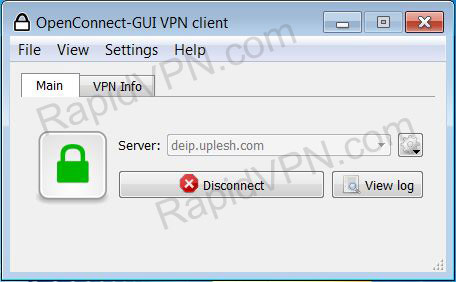How to install OpenConnect in Windows 7 - Step 6