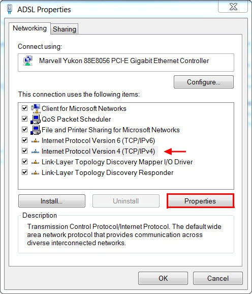 How to fix DNS Leak in Windows - Step 3