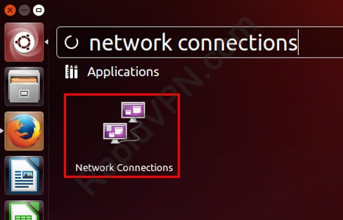 L2TP VPN connection on Ubuntu - Step 2