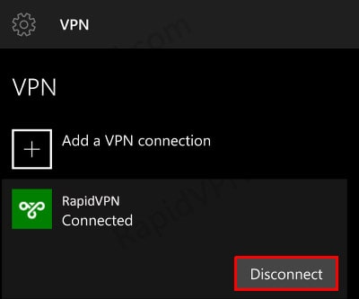 PPTP VPN connection on Windows Phone- Step 5