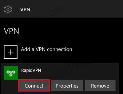 SSTP VPN connection on Windows Phone- Step 4