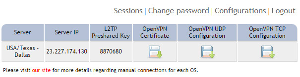 OpenVPN connection on Windows XP - Step 8